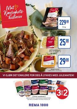 Tilbud på Supermarkeder i Rema 1000-katalogen i Trondheim ( 7 dager igjen )