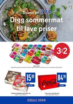 Tilbud fra Supermarkeder i Rema 1000-brosjyren ( 6 dager igjen)