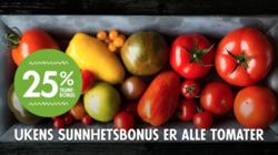 Tilbud fra Helgø Matsenter i Stavanger-brosjyren