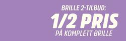 Tilbud fra Brilleland i Oslo-brosjyren
