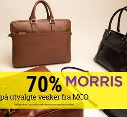 Tilbud fra Morris i Morris-brosjyren ( 5 dager igjen)