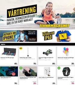 Tilbud på Elektronikk og hvitevarer i Teknikmagasinet-katalogen i Oslo ( 15 dager igjen )