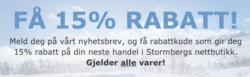 Tilbud fra Stormberg i Trondheim-brosjyren