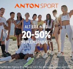 Tilbud fra Anton Sport i Anton Sport-brosjyren ( 9 dager igjen)