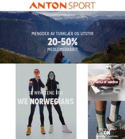 Tilbud fra Anton Sport i Anton Sport-brosjyren ( Utløper i morgen)
