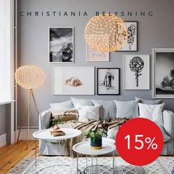 Tilbud fra Christiania Belysning i Christiania Belysning-brosjyren ( 3 dager igjen)