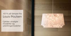 Tilbud fra Christiania Belysning i Oslo-brosjyren