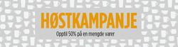 Tilbud fra Christiania Glasmagasin i Trondheim-brosjyren