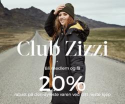 Tilbud fra Zizzi i Oslo-brosjyren