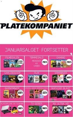 Tilbud på Elektronikk og hvitevarer i Platekompaniet-katalogen i Oslo ( Utløper i morgen )