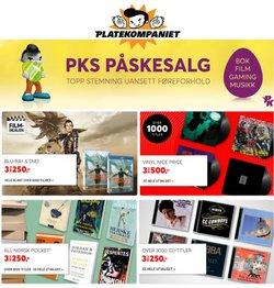 Tilbud på Elektronikk og hvitevarer i Platekompaniet-katalogen i Oslo ( 15 dager igjen )