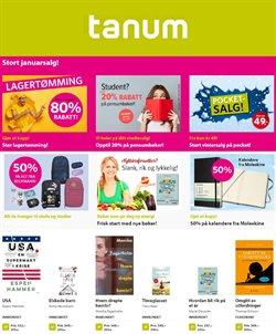 Tilbud på Bøker og kontor i Tanum-katalogen i Oslo ( 14 dager igjen )