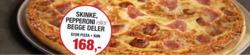 Tilbud fra Peppes Pizza i Oslo-brosjyren