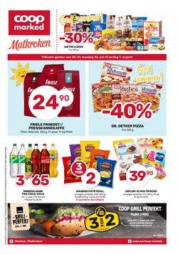 Tilbud fra Supermarkeder i Matkroken-brosjyren ( 5 dager igjen)