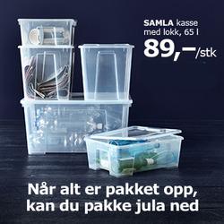 Tilbud fra IKEA i Oslo-brosjyren