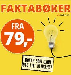 Tilbud fra Bøker og kontor i Bokklubben-brosjyren ( Utløper i dag)