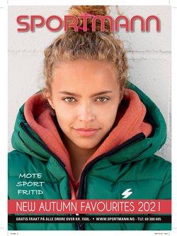 Tilbud fra Sportmann i Sportmann-brosjyren ( Mer enn 30 dager)
