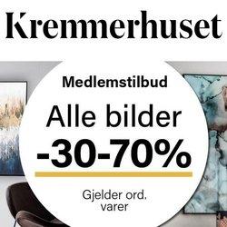 Tilbud fra Kremmerhuset i Kremmerhuset-brosjyren ( 12 dager igjen)