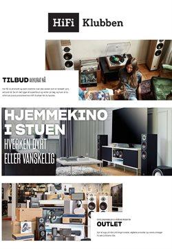 Tilbud på Elektronikk og hvitevarer i Hi-Fi Klubben-katalogen i Oslo ( Utløper i dag )