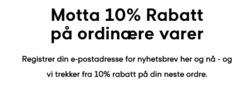 Tilbud fra GANT i Oslo-brosjyren