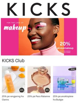 Tilbud fra Helse og skjønnhet i Kicks-brosjyren ( Utløper i morgen )