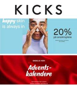 Tilbud fra Helse og skjønnhet i Kicks-brosjyren ( Publisert i dag)