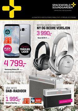 Tilbud fra Soundgarden i Oslo-brosjyren