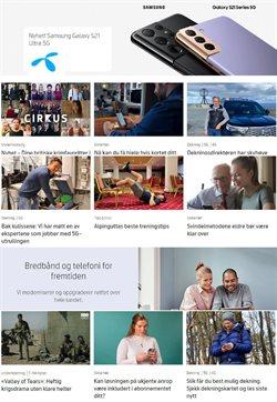 Tilbud på Elektronikk og hvitevarer i Telenor-katalogen i Oslo ( 7 dager igjen )