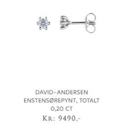 Tilbud fra David Andersen i Oslo-brosjyren