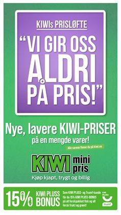 Tilbud fra Supermarkeder i Kiwi-brosjyren ( Utløper i morgen )