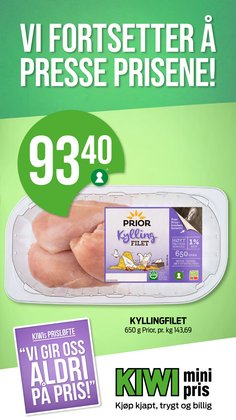 Kiwi-katalog i Drammen ( 3 dager igjen )