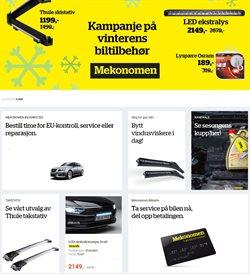 Tilbud fra Bil og motor i Mekonomen-brosjyren ( 3 dager igjen )