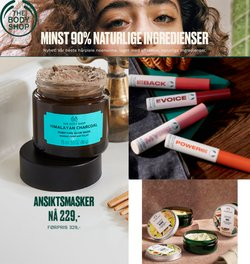 The Body Shop-katalog ( 4 dager igjen)