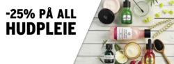 Tilbud fra The Body Shop i Oslo-brosjyren