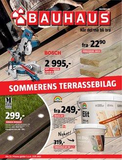 Tilbud fra Bauhaus i Bauhaus-brosjyren ( Publisert i går)