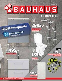 Tilbud fra Bauhaus i Bauhaus-brosjyren ( 8 dager igjen)