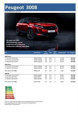 Peugeot-katalog ( 2 dager siden )