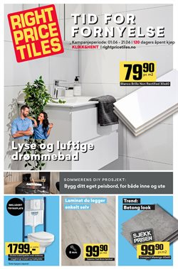 Right Price Tiles-katalog ( Utløpt )