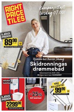 Right Price Tiles-katalog ( Mer enn 30 dager)