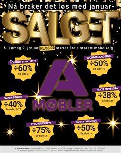 Tilbud fra Salg i A-Møbler-brosjyren ( 27 dager igjen)