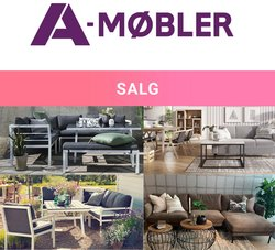 Tilbud fra Salg i A-Møbler-brosjyren ( Publisert i går)