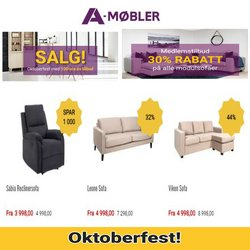 A-Møbler-katalog ( 4 dager igjen)