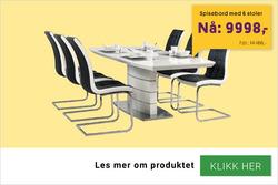Tilbud fra A-Møbler i Oslo-brosjyren