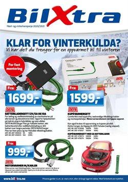 Tilbud fra Bil og motor i Bilxtra-brosjyren ( Mer enn 30 dager )