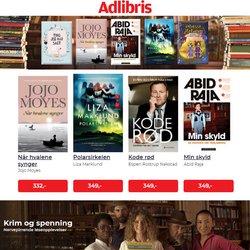 Tilbud fra Bøker og kontor i Adlibris-brosjyren ( Publisert i går)