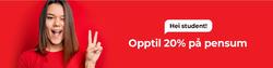 Adlibris-kupong i Oslo ( 3 dager siden )