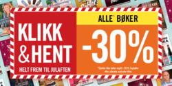 Tilbud fra Ark Bokhandel i Oslo-brosjyren