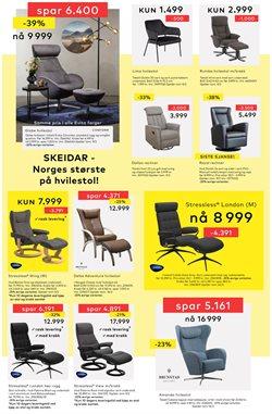 Tilbud fra Hjem og møbler i Skeidar-brosjyren ( 3 dager igjen )