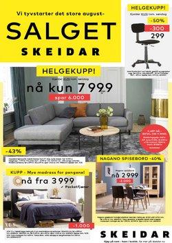 Tilbud fra Hjem og møbler i Skeidar-brosjyren ( Mer enn 30 dager)