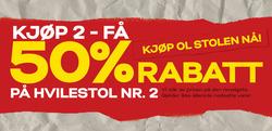Tilbud fra Skeidar i Oslo-brosjyren